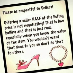 Please be Considerate with offers to sellers.